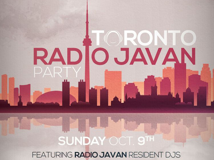 Radio Javan Party in Toronto